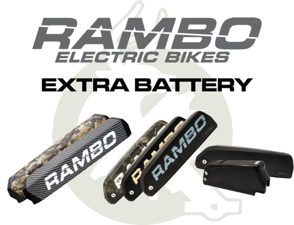 Rambo Extra Battery Pack